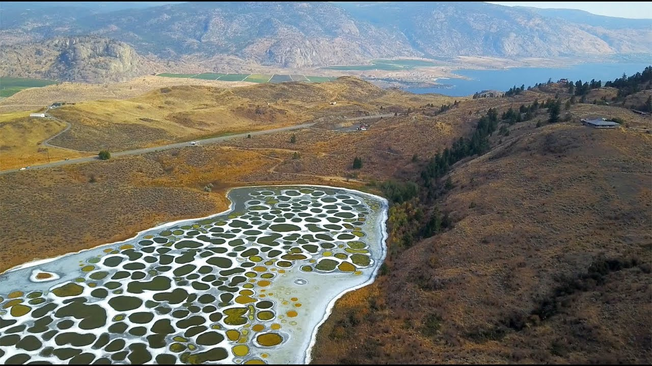 The Spotted Lake (Kliluk) canada